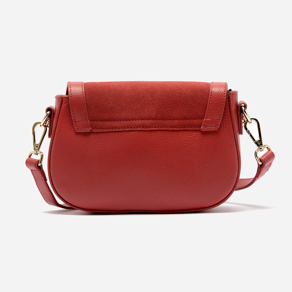 96cfe95a7a Antonela mini shoulder bag in calfskin and suede leather – ART GO ...